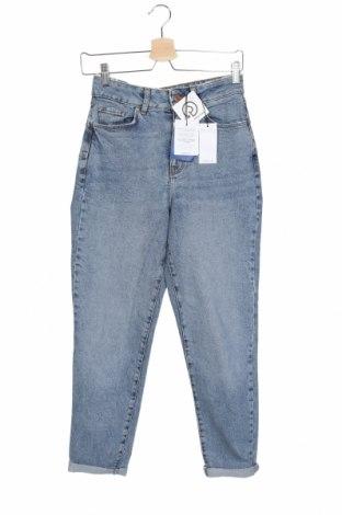 Дамски дънки New Look, Размер S, Цвят Син, 98% памук, 2% еластан, Цена 39,00лв.