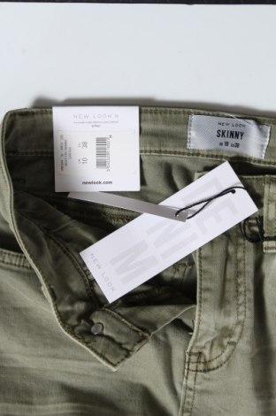 Дамски дънки New Look, Размер M, Цвят Зелен, 79% памук, 19% лиосел, 2% еластан, Цена 35,36лв.