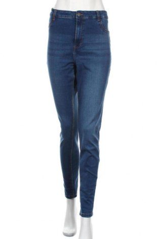 Γυναικείο Τζίν Noisy May, Μέγεθος XL, Χρώμα Μπλέ, 75% βαμβάκι, 18% πολυεστέρας, 5% βισκόζη, 2% ελαστάνη, Τιμή 20,32€