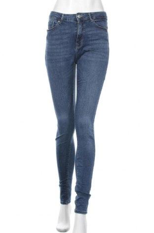 Дамски дънки ONLY, Размер M, Цвят Син, 98% памук, 2% еластан, Цена 35,40лв.