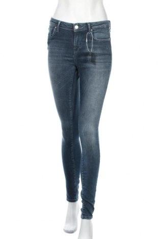 Дамски дънки ONLY, Размер M, Цвят Син, 92% памук, 8% еластан, Цена 44,25лв.