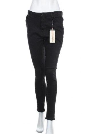 Дамски дънки ONLY, Размер L, Цвят Черен, 98% памук, 2% еластан, Цена 28,62лв.