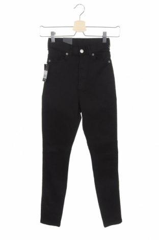 Дамски дънки Dr. Denim, Размер XS, Цвят Черен, 95% памук, 5% еластан, Цена 43,07лв.