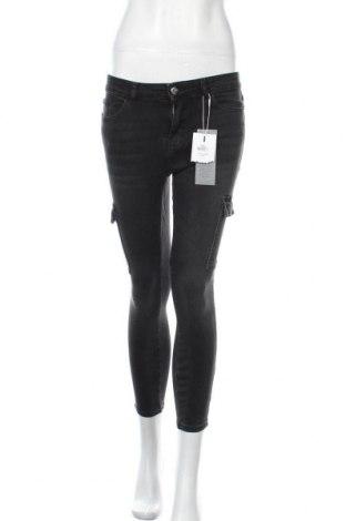 Дамски дънки ONLY, Размер S, Цвят Черен, 98% памук, 2% еластан, Цена 44,25лв.