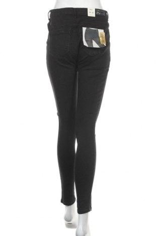 Дамски дънки ONLY, Размер M, Цвят Черен, 98% памук, 2% еластан, Цена 28,62лв.