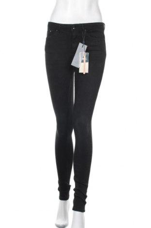 Дамски дънки ONLY, Размер S, Цвят Черен, 98% памук, 2% еластан, Цена 31,20лв.
