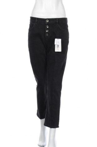 Дамски дънки Orsay, Размер M, Цвят Черен, 99% памук, 1% еластан, Цена 31,27лв.