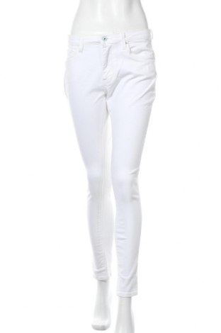Дамски дънки Pepe Jeans, Размер M, Цвят Бял, 97% памук, 3% еластан, Цена 63,60лв.