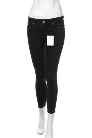 Γυναικείο Τζίν Pieces, Μέγεθος S, Χρώμα Μαύρο, 89% βαμβάκι, 9% πολυεστέρας, 2% ελαστάνη, Τιμή 20,68€