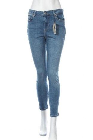 Γυναικείο Τζίν Pieces, Μέγεθος XL, Χρώμα Μπλέ, 85% βαμβάκι, 13% πολυεστέρας, 2% ελαστάνη, Τιμή 25,23€