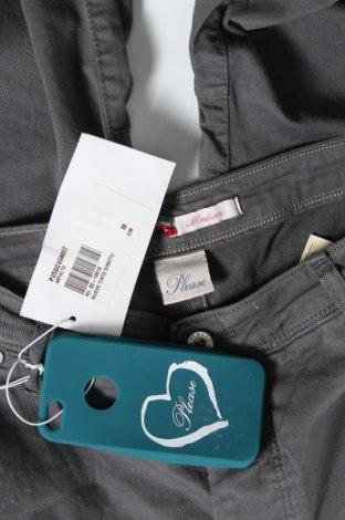 Дамски дънки Please, Размер M, Цвят Сив, 98% памук, 2% еластан, Цена 87,72лв.