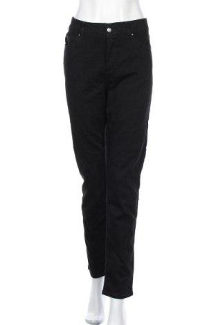 Дамски дънки Rafaella, Размер L, Цвят Черен, 69% памук, 26% полиестер, 4% вискоза, 1% еластан, Цена 27,30лв.