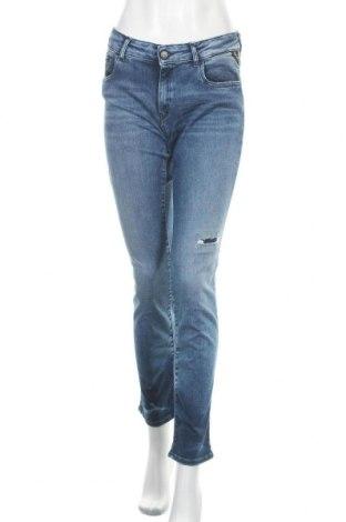 Γυναικείο Τζίν Replay, Μέγεθος L, Χρώμα Μπλέ, 72% βαμβάκι, 21% μοντάλ, 5% πολυεστέρας, 2% ελαστάνη, Τιμή 80,11€