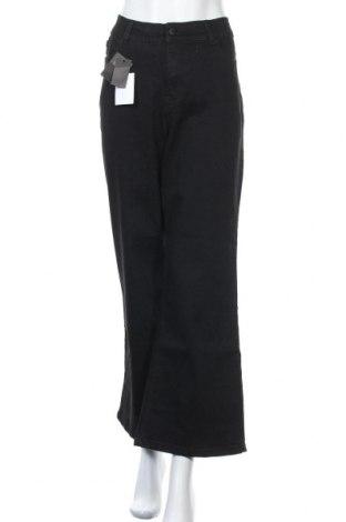 Дамски дънки Simply Be, Размер L, Цвят Черен, 73% памук, 22% полиестер, 3% вискоза, 2% еластан, Цена 31,86лв.