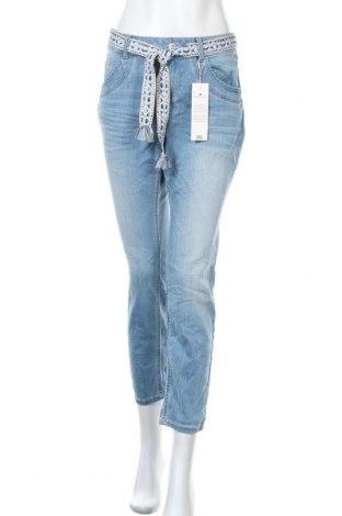 Γυναικείο Τζίν Tom Tailor, Μέγεθος L, Χρώμα Μπλέ, 80% βαμβάκι, 19% πολυεστέρας, 1% ελαστάνη, Τιμή 30,16€