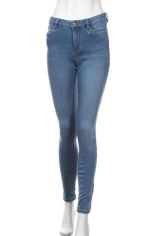 Дамски дънки Tom Tailor, Размер M, Цвят Син, 74% памук, 24% полиестер, 2% еластан, Цена 38,40лв.