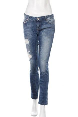 Дамски дънки Tom Tailor, Размер L, Цвят Син, 98% памук, 2% еластан, Цена 36,75лв.