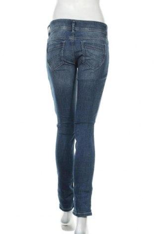 Дамски дънки Tom Tailor, Размер M, Цвят Син, 98% памук, 2% еластан, Цена 45,10лв.