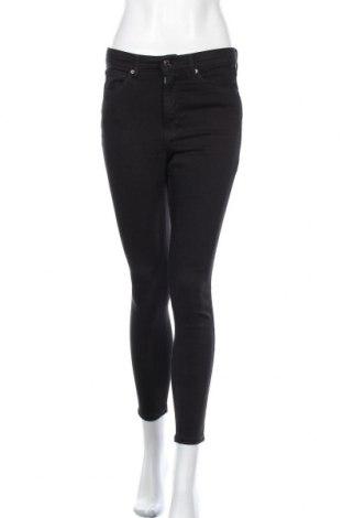 Дамски дънки Topshop, Размер M, Цвят Черен, 65% полиестер, 35% памук, Цена 35,40лв.