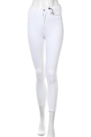 Дамски дънки Topshop, Размер S, Цвят Бял, 92% памук, 8% еластан, Цена 48,95лв.
