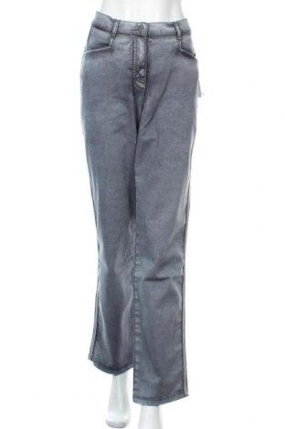 Γυναικείο Τζίν Ulla Popken, Μέγεθος XL, Χρώμα Γκρί, 97% βαμβάκι, 3% ελαστάνη, Τιμή 29,69€
