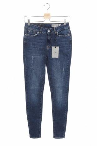Дамски дънки Vero Moda, Размер S, Цвят Син, 99% памук, 1% еластан, Цена 43,45лв.
