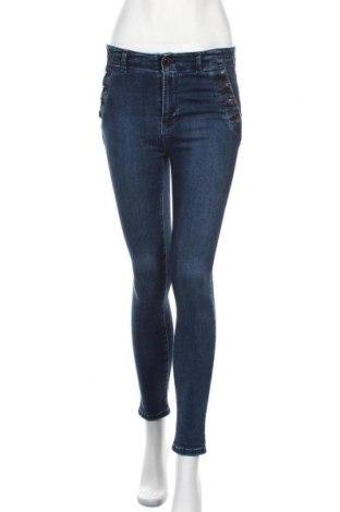 Дамски дънки Vivance, Размер S, Цвят Син, 97% памук, 3% еластан, Цена 44,40лв.