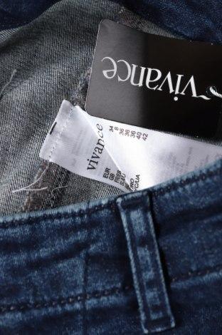 Дамски дънки Vivance, Размер XS, Цвят Син, 97% памук, 3% еластан, Цена 57,67лв.