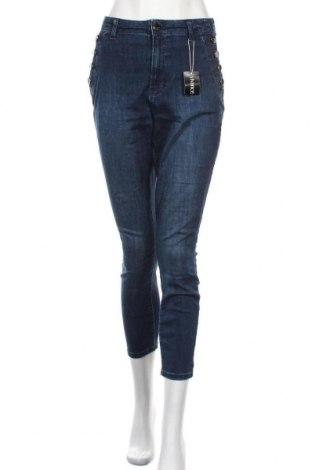 Дамски дънки Vivance, Размер L, Цвят Син, 97% памук, 3% еластан, Цена 57,67лв.