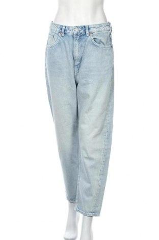 Γυναικείο Τζίν Weekday, Μέγεθος L, Χρώμα Μπλέ, Βαμβάκι, Τιμή 21,08€