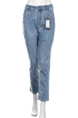 Дамски дънки Wonder Jeans, Размер XL, Цвят Син, 65% памук, 30% полиестер, 5% еластан, Цена 44,25лв.