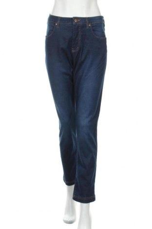 Дамски дънки Zizzi, Размер L, Цвят Син, 65% памук, 32% полиестер, 3% еластан, Цена 22,17лв.