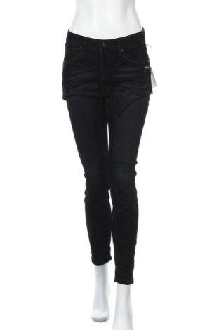 Дамски джинси Gang, Размер L, Цвят Черен, 92% памук, 6% полиестер, 2% еластан, Цена 60,42лв.