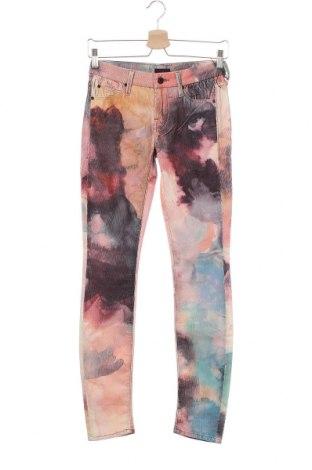 Дамски джинси Mother, Размер XS, Цвят Многоцветен, 98% памук, 2% еластан, Цена 60,42лв.