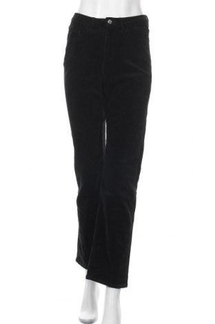 Γυναικείο κοτλέ παντελόνι Weekday, Μέγεθος S, Χρώμα Μαύρο, 98% βαμβάκι, 2% ελαστάνη, Τιμή 24,08€