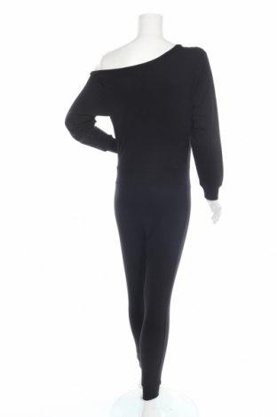 Дамски гащеризон Even&Odd, Размер XS, Цвят Черен, 60% памук, 40% полиестер, Цена 28,60лв.