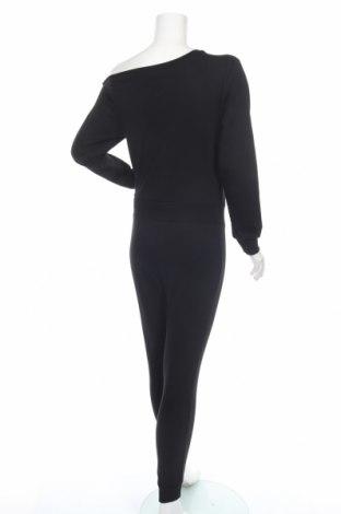 Дамски гащеризон Even&Odd, Размер XS, Цвят Черен, 60% памук, 40% полиестер, Цена 29,50лв.