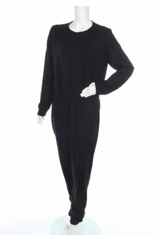 Дамски гащеризон Even&Odd, Размер XL, Цвят Черен, 60% памук, 40% полиестер, Цена 33,60лв.