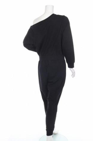Дамски гащеризон Even&Odd, Размер XL, Цвят Черен, 60% памук, 40% полиестер, Цена 29,50лв.