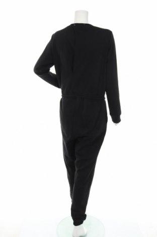 Дамски гащеризон Even&Odd, Размер XL, Цвят Черен, 60% памук, 40% полиестер, Цена 40,12лв.