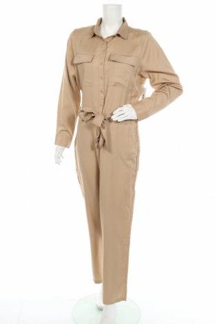 Γυναικεία σαλοπέτα Gina Tricot, Μέγεθος M, Χρώμα  Μπέζ, Lyocell, Τιμή 13,94€