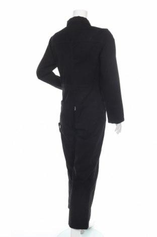 Дамски гащеризон Kickers, Размер M, Цвят Черен, Памук, Цена 35,20лв.