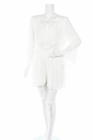 Дамски гащеризон Molly Bracken, Размер XL, Цвят Бял, Вискоза, Цена 39,00лв.