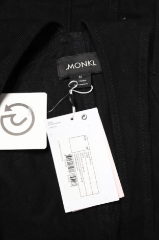 Дамски дънков гащеризон Monki, Размер M, Цвят Черен, Памук, Цена 59,25лв.