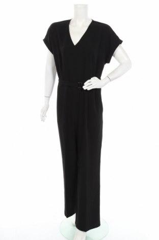 Дамски гащеризон Tom Tailor, Размер XL, Цвят Черен, Полиестер, Цена 66,75лв.