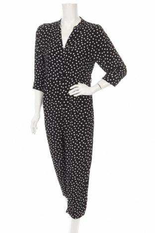 Дамски гащеризон Zara, Размер M, Цвят Черен, Цена 28,56лв.