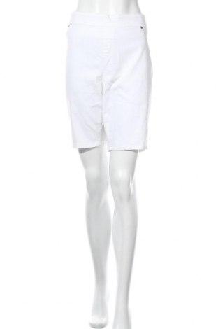 Дамски къс панталон Breakers, Размер XL, Цвят Бял, 68% памук, 29% полиестер, 3% еластан, Цена 4,10лв.