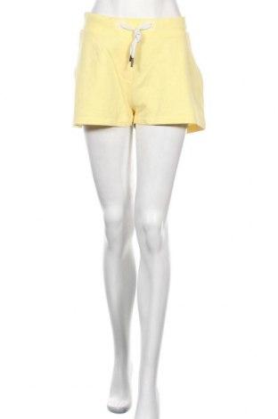Γυναικείο κοντό παντελόνι Elbsand, Μέγεθος XL, Χρώμα Κίτρινο, 67% βαμβάκι, 33% πολυεστέρας, Τιμή 16,45€