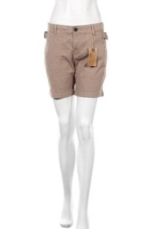 Γυναικείο κοντό παντελόνι Timberland, Μέγεθος S, Χρώμα  Μπέζ, 97% βαμβάκι, 3% ελαστάνη, Τιμή 22,40€
