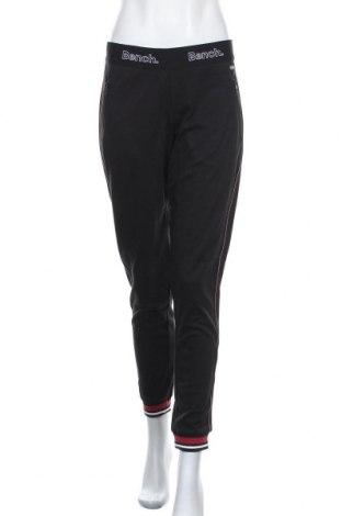 Дамско спортно долнище Bench, Размер L, Цвят Черен, 60% памук, 40% полиестер, Цена 57,67лв.